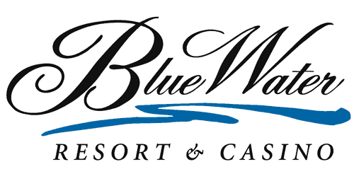 logo for bluewater resort