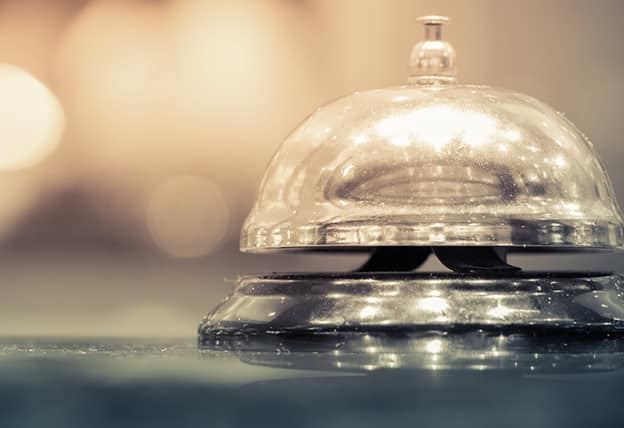 banner image of a hotel bell